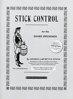 ストーン: スティック・コントロール/アルフレッド社/スネア・ドラム教本