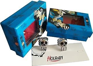HOLRAN Soul Eater Death Shinigami Skull Ring Cosplay Rings