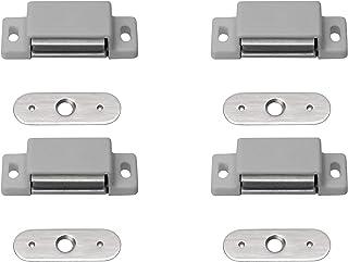 Metafranc Magnetic Catch - Fixed Counterplate - Easy to Assemble - Suitable for Furniture Doors & Flaps/Door Lock/Retainin...