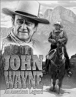 Desperate Enterprises John Wayne American Legend Tin Sign, 12.5