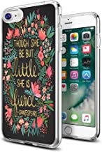 Shakespeare Case for iPhone 8/7,Gifun Anti-Slide Clear TPU Flexible Protective Case Cover Compatible with iPhone 8/7 - Sha...