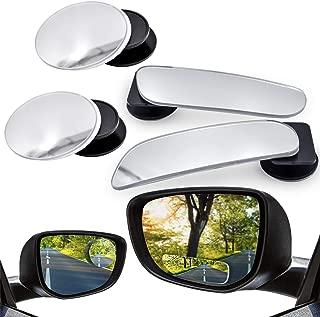 100 RoxTop Car Rearview Mirror Film Anti-Water Anti-Fog Mirror Film for Car Rainproof Waterproof Rearview Mirror Window Clear Film; Transparent 1MM 150