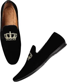 4fdbc7bde6713 Amazon.in: Velvet - Loafers & Moccasins / Casual Shoes: Shoes & Handbags