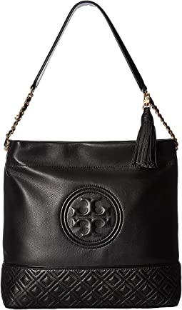 d4ccc96b2 Tory burch perforated logo hobo