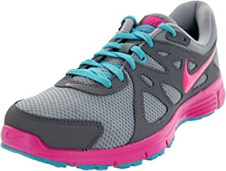 Nike New Revolution 2 Grey/Pink Ladies Running Shoes