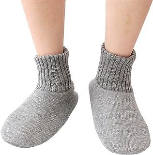 Men Knitted Non-Slip Slippers Warm Cotton Socks Indoor Slippers