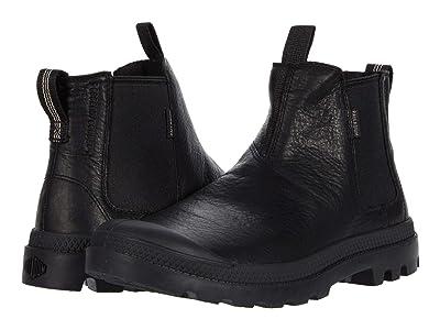 Palladium Pampa Chelsea (Black/Black) Lace-up Boots