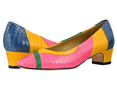 Vaneli Althea (Hot Pink/Green/Yellow/Royal Blue Whip Snake) Women