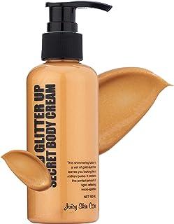 طلایی براق! کرم آرایشی راز - لوسیون طلا باند - لوسیون ضد آفتاب ضد آفتاب + ویتامین B3 و ژل آلوئه ورا - لوسیون بدن و لوسیون انعطاف پذیر