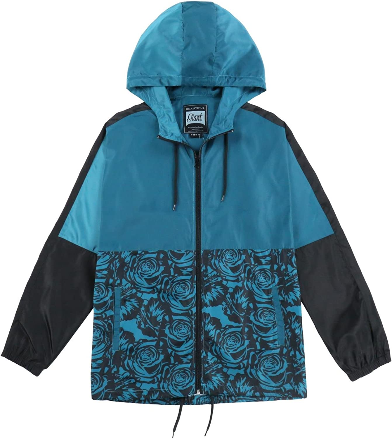 Men's Water Resistant Coat Soft long sleeve Performance Street Fashion Shell