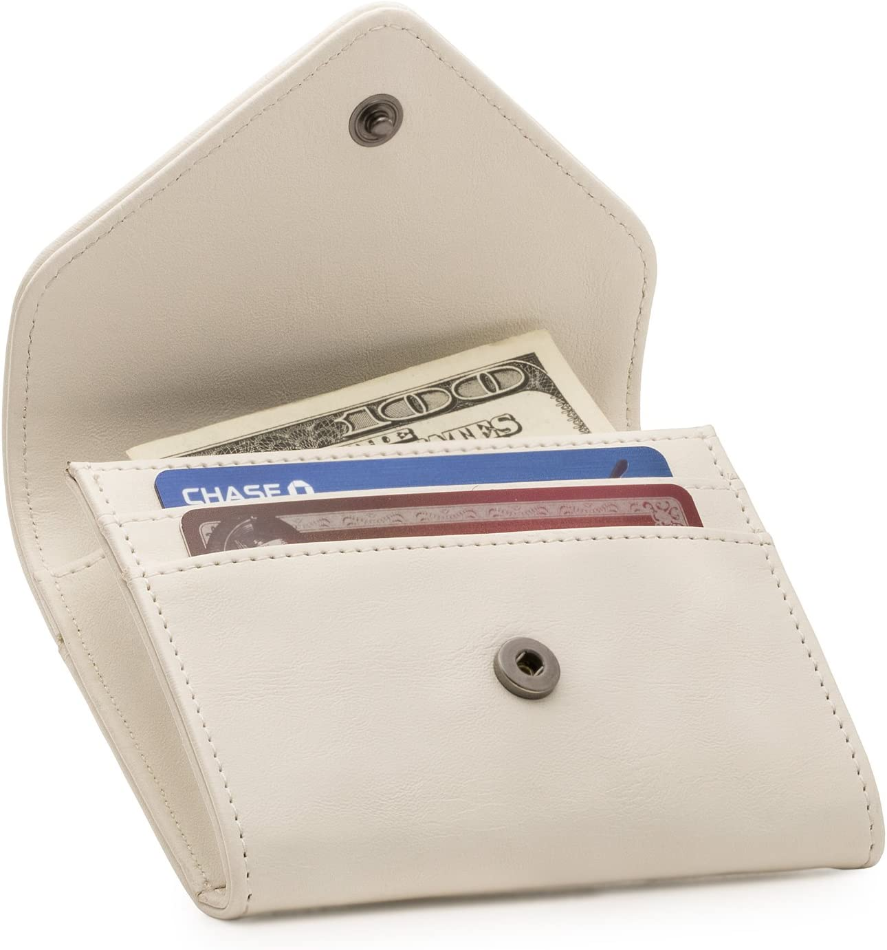 Otto Angelino Leather Coin and Credit Card Organizer - RFID Blocking – Unisex