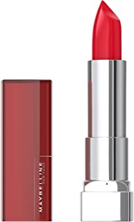 Maybelline Color Sensational Lipstick, Lip Makeup, Cream Finish, Hydrating Lipstick, Nude, Pink, Red, Plum Lip Color, Red ...