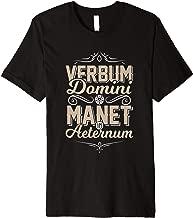 Latin VERBUM DOMINI MANET IN AETERNUM Lutheran T-shirt