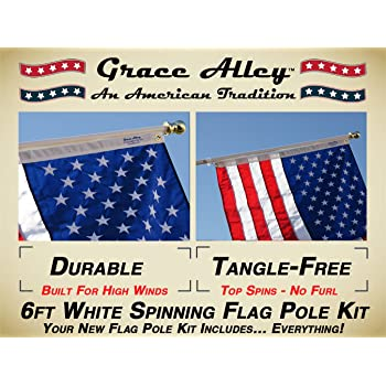 Propane Sold Here Quantity 2 Super Flag /& Pole Kits
