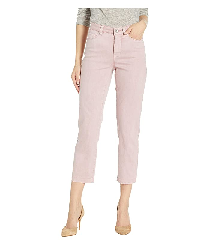 Tribal Stretch Twill Five-Pocket Capris with Released Hem (Lotus) Women