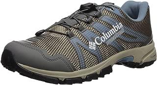 Columbia Women's Mountain Masochist IV Trail Running Shoe, Ancient Fossil, Dark Mirage, 8 B US