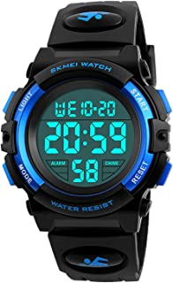 Kid Watch 50M Waterproof Sport LED Alarm Stopwatch...