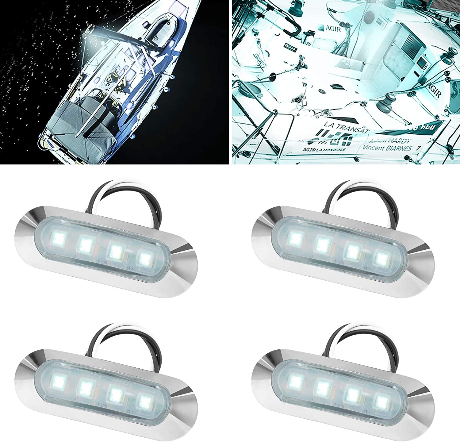 HONG Today's only 111 Marine Boat Lights Led Utility Max 48% OFF Interior De
