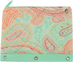 Carolina Pad Studio C Quilted Storage Pouch for Binders ~ Paisley Please (10