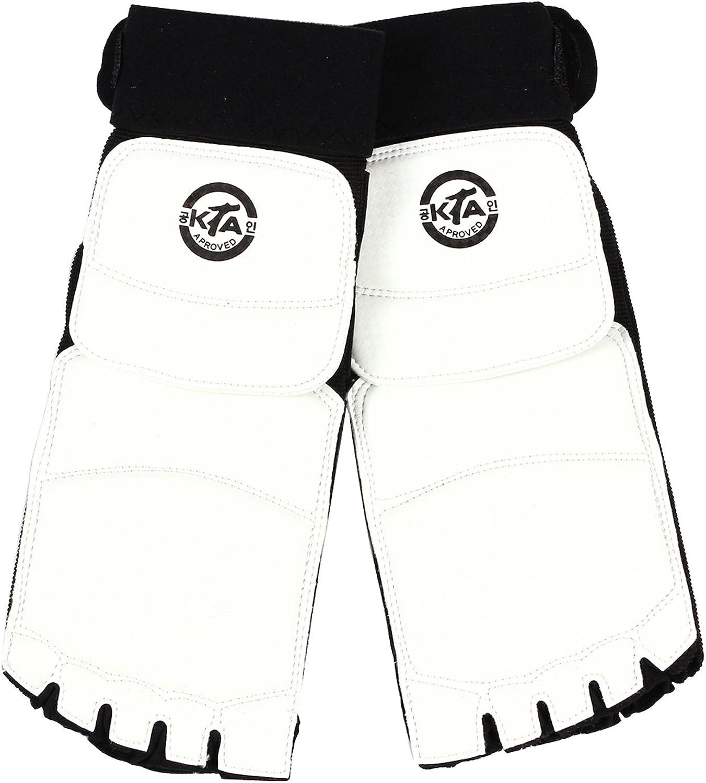 LeCaf Taekwondo Foot Gear Martial Arts Predector Sparring Gear LCAF19 ( 7 ( 10.7 IN))