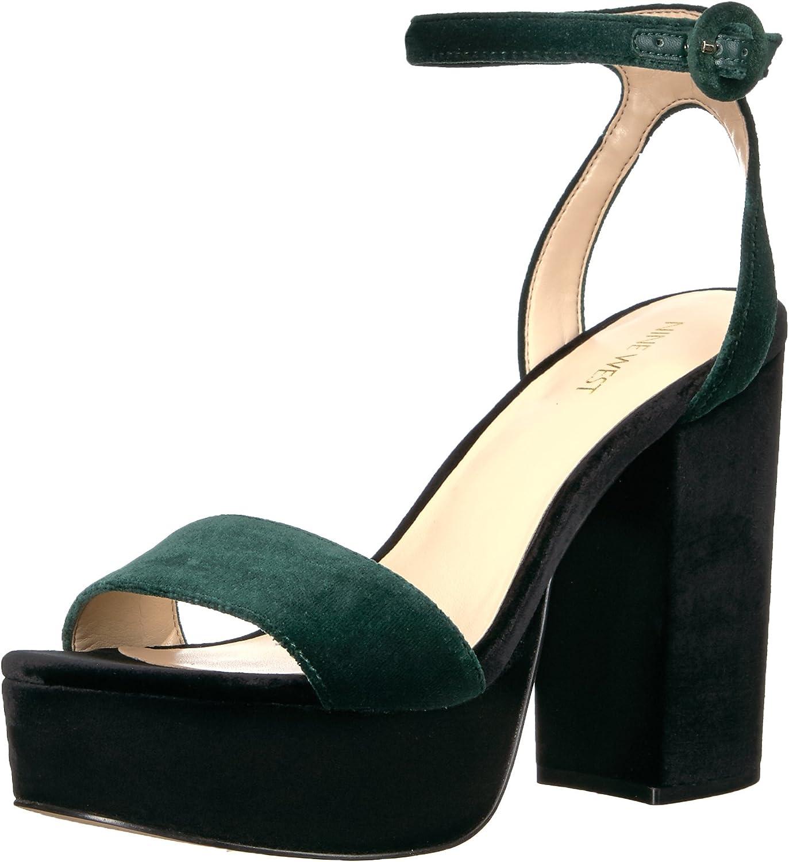 Nine West Women's Krewl Heeled Sandal