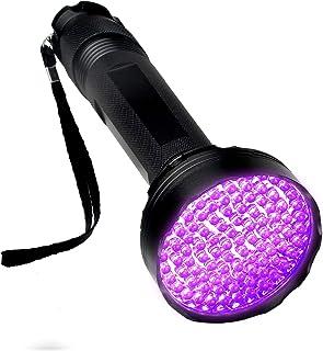 T-SUN 2021年最新版 紫外線ライト ブラックライト UVライト100LED 紫外線ブラックライト ペットUVライト レジン用 懐中電灯 硬化ライト 強力 ペット 偽札対策 蛍光剤 残留確認 サソリ捉えに