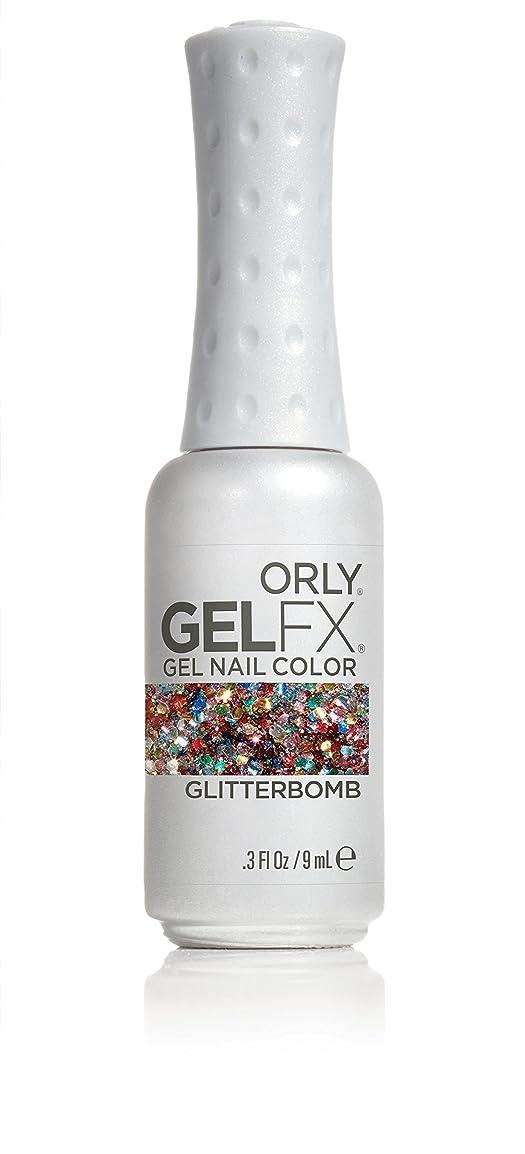 勉強するとまり木依存Orly GelFX Gel Polish - Glitterbomb - 0.3oz / 9ml