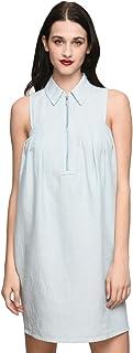 A|X Armani Exchange Women's Sleeveless Tulip Dress