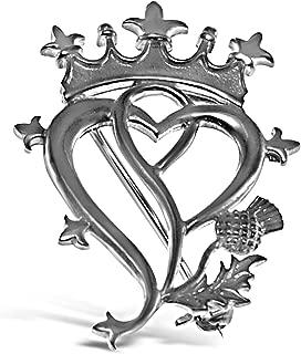 Sterling Silver Luckenbooth Brooch - Scottish Pin