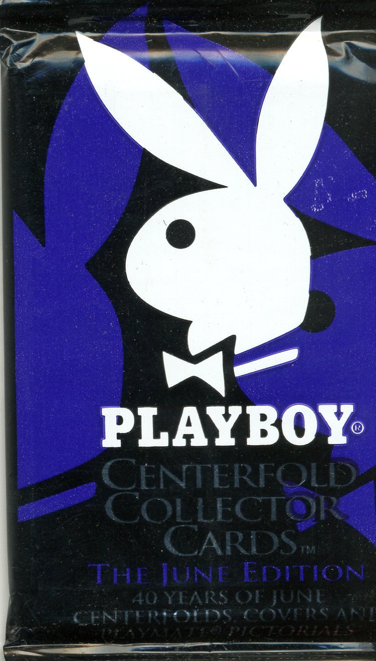 Playboy Sports Time Centerfold Collector Cards The June Editon Pack