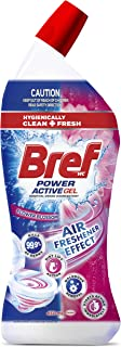 Bref Power Active Flower Blossom with Air Freshener Effect, Toilet Cleaner Gel, 450ml (Packaging may vary)