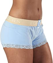 Foxers Women's Boxer Brief Underwear with Pockets Cotton Boy Shorts Panties