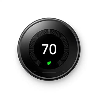 Google Nest Learning Thermostat - Programmable Smart Thermostat for Home - 3rd Generation Nest Thermostat - Compatible wit...
