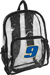 Logo Brands NASCAR Hendrick Motorsports Racing Unisex Clear Backpack, One Size
