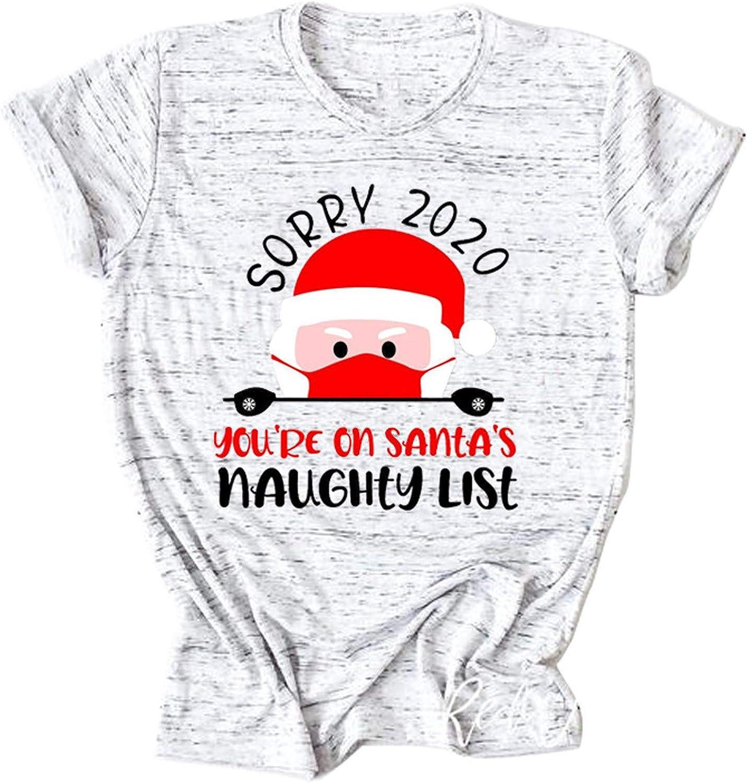 Kethorina latest Sorry 2020 You're On Santa's List Christmas Sh Naughty Year-end annual account