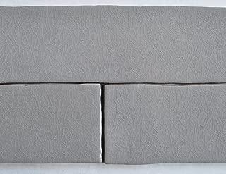 3x12 Grey Crackled Glossy Finish Subway Ceramic Tile Backsplashes Walls