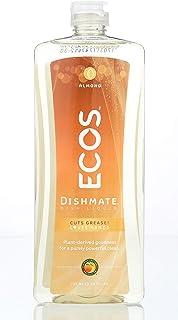 Earth Friendly Products ECOS Dishmate, Dishwashing Liquid, Natural Almond, 25 oz