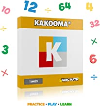 Kakooma - Kakooma Times (Multiplication & Division) - Puzzle - Trains Your Computational Skills! - Great for All Ages! - 100% Math Based!