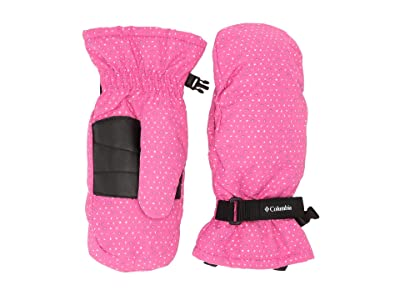 Columbia Kids Coretm Mitten (Big Kids) (Pink Ice Sparkler) Extreme Cold Weather Gloves