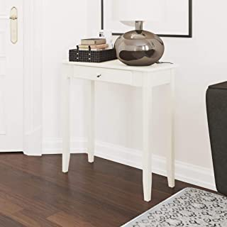 Best small white console tables Reviews