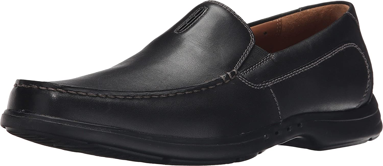 Clarks Men's Un.Easley Twin Loafers Shoes