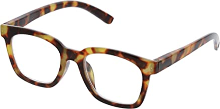 Peepers Women's To The Max - Tortoise 2516150 Square Reading Glasses, Tortoise, 1.5