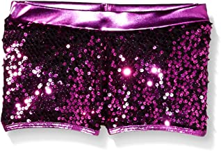 Gia Mia Dance Girls' Big Sequin Short