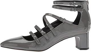 Calvin Klein Womens Madlenka Patent Closed Toe Ankle...