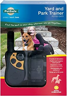pet safe yard and park trainer instructions