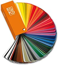 RAL K5 color fan deck with 213 RAL CLASSIC colors - Gloss