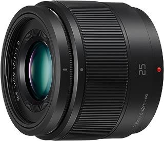 Panasonic Camera Accy H-H025E-K 25mm Lense (Black)