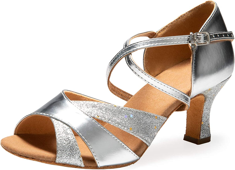 New color Ballroom Dance Shoes Women 2.56