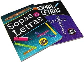2 Pack - Spanish Word Search Book Jumbo, Sopas de Letras en Espanol Each Easy-to-See Seek & Circle. Word Find, Work Puzzle...