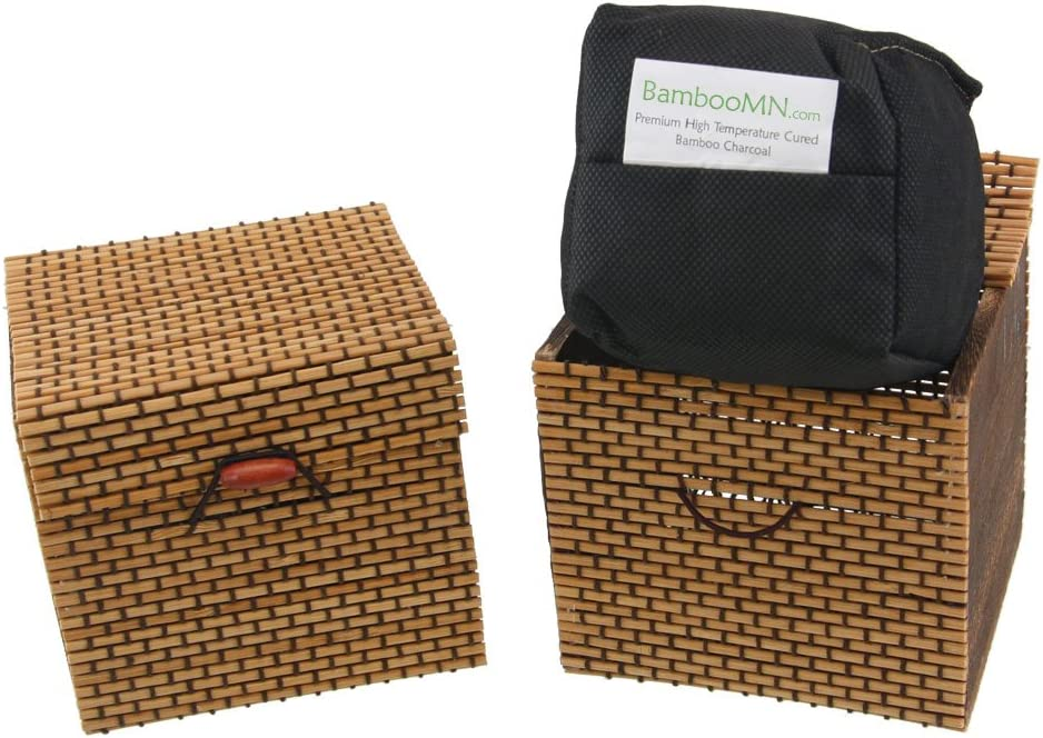 BambooMN Granulated Max 49% OFF Bamboo Charcoal Odor Clearance SALE Limited time Decorat Bag in Absorber
